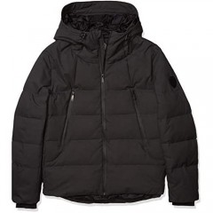 Vince Camuto mens Hooded Down Puffer Jacket