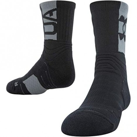 Under Armour Youth Playmaker Mid-Crew Socks 1-Pair